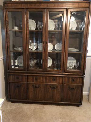 Lighted China Cabinet for Sale in Woodbridge, VA