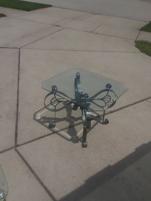 Glass end tabled for Sale in Mokena, IL