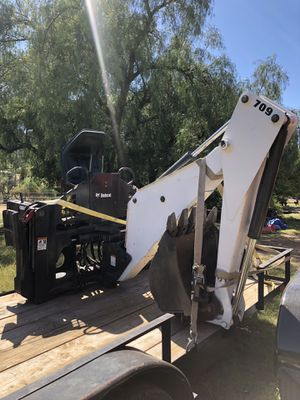 Attachable & Removable BackHoe for Sale in Valley Center, CA