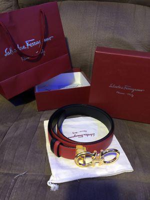 Ferragamo men's belt size 31 (Brand new) for Sale in Lynnwood, WA