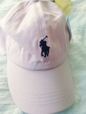 Authentic Polo Ralph Lauren hats, NWT, several colors in stock, here's pink with leather strap. One size for Sale in Fort Washington, MD