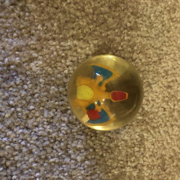 Pokémon Charizard Power Bouncer #6 vintage 1998 bounce ball hasbro Nintendo vintage pokemon
