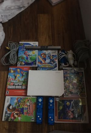 Wii with all wires and 6 games! for Sale in Alexandria, VA