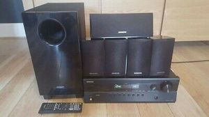 onkyo ht-r380 5.1 Channel Surround sound system for Sale in Union, NJ