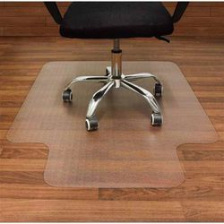NEW HON HCM4660LN 46x60 Inch Office Chair Mat Lipped Non-Studded Workstation Fit Smooth Rolling For Hardwood Tile Floor for Sale in South El Monte,  CA