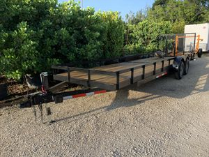 "2019 6'4"" x 24' Utility Trailer. for Sale in Fort Lauderdale, FL"