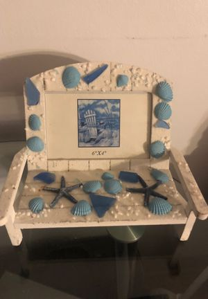 Brand New Seashell Picture Frame 6x4 for Sale in Linden, NJ
