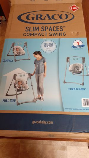 """""""GRACO"""" Slim Spaces Compact Swing for Sale in Grove City, OH"""