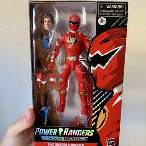 Power Rangers Lightning Collection Exclusive Spectrum Series Red Ranger Figure for Sale in Clovis, CA