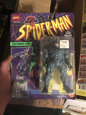 Spider-Man rhino action figure for Sale in Payson, AZ