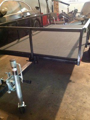 4x8 tilting utility trailer, like new for Sale in Houston, TX