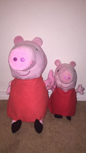 Peppa pig plushies for Sale in Kissimmee, FL