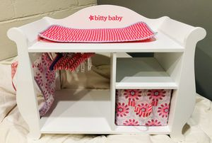 American Girl -Bitty Baby Changing Table for Sale in Richland, WA