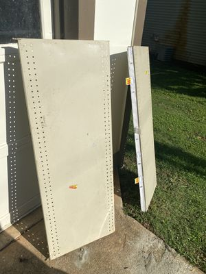 used metal shelving full truck w/out pole for Sale in Alpharetta, GA