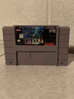 P.T.O. 2 Super Nintendo SNES Authentic Cartridge Tested for Sale in Euclid, OH