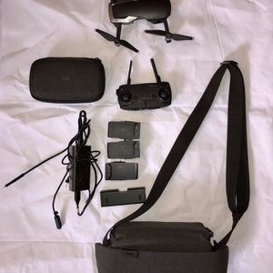 DJI Maveric Air Drone black With 3 Batteries & carrying Case For Everything Pictured for Sale in Manassas, VA