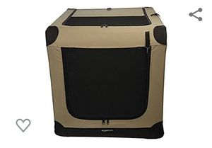 AmazonBasics Folding Soft Dog Crate for Crate-Trained Dogs for Sale in Rancho Cucamonga, CA