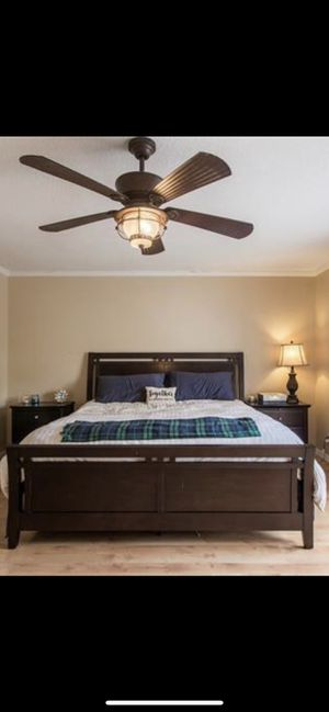 King bedroom set with dresser and night stand for Sale in Alexandria, VA