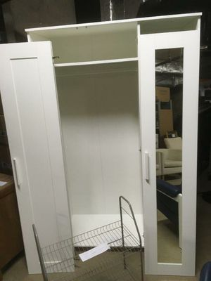 White Ikea Armoire for Sale in Manassas, VA