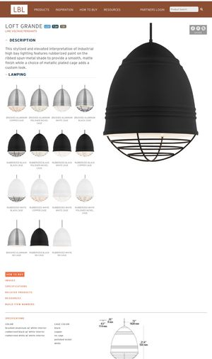 Light Fixtures- Loft Grande Line Voltage Pendants for Sale in Chicago, IL