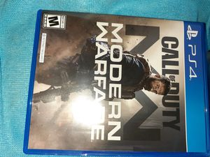 PS4 CALL OF DUTY MODERN WARFARE for Sale in Port St. Lucie, FL