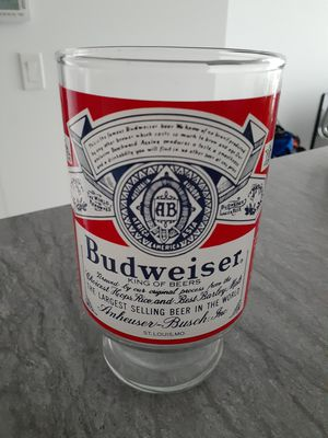 Budweiser Drinking Glass for Sale in New York, NY