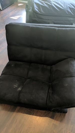 2 parts worn futon for Sale in Plumsted Township, NJ