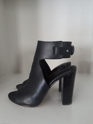 Vince Black Leather Ankle Booties for Sale in Herndon, VA