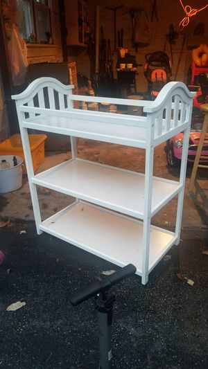 Infant Changing table. padding included for Sale in Nether Providence Township, PA