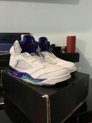 Jordan Fresh Prince Grape 5s for Sale in Northlake, IL