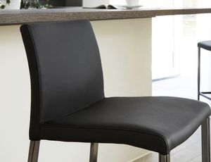 Italian Leather Black Chrome Bar Stools set for Sale in Los Angeles, CA
