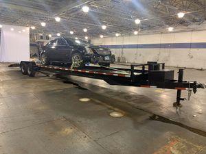 2019 Texas pride 2 car trailer for Sale in Aurora, IL