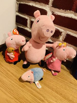 Peppa Pig🐷🐷🐷🐷 dolls for Sale in Pasadena, TX