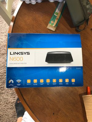 Linksys n600 for Sale in Houston, TX