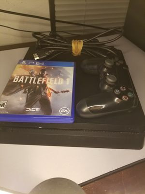 PS4 Slim 500GB Free Game for Sale in Austin, TX