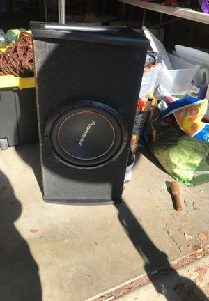 Subwoofer without amp for Sale in Santee, CA