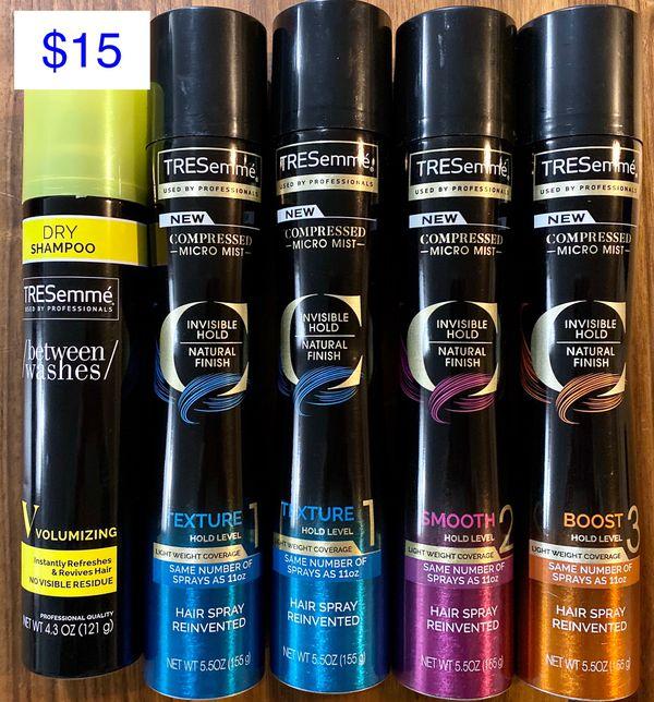 Tresemme Hairspray Bundle