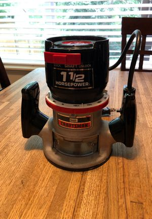 Craftsman sears wood router 1 1/2HP for Sale in Oregon City, OR
