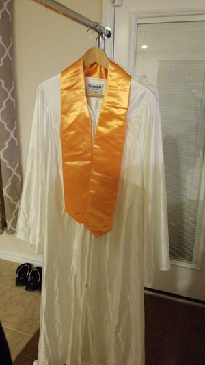 Graduation gown & sash for Sale in Buda, TX