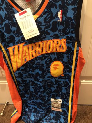 BAPE WARRIORS JERSEY for Sale in Vacaville, CA