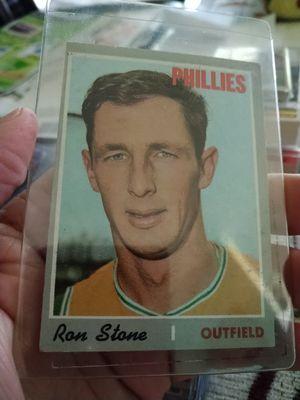 1970 Topps Philadelphia Phillips Baseball Cards Lot for Sale in Port Richey, FL