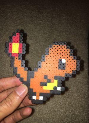 Pokémon Charmander Perler Bead for Sale in Pittsburgh, PA
