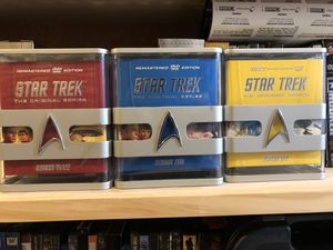 Star Trek Season 1, 2, 3 for Sale in Gainesville, VA