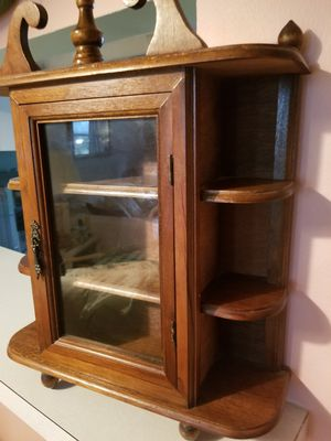 """Cute Mini Vintage Wood Cabinet - 17"""" x 14 1/2"""" x 4"""" for Sale in Fort Lauderdale, FL"""
