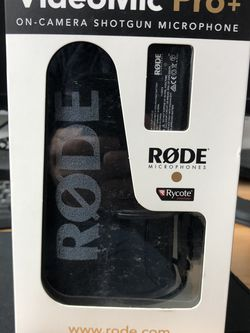 2 Rode Videomic Pro Plus $225 each for Sale in Houston,  TX