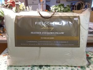 Never used, feather/down, pillow. for Sale in Newberg, OR
