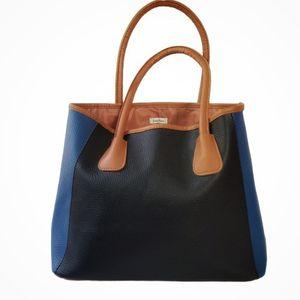 Neiman Marcus Color-Block Tote Bag for Sale in Yorba Linda, CA