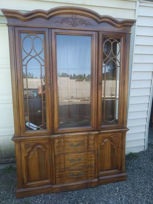 2 pc. China hutch for Sale in US