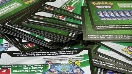 Pokemon Trading Cards Game Online Code for Sale in Seattle,  WA