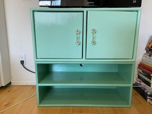 Small TV stand / media storage / cabinet and shelf for Sale in Santa Monica, CA